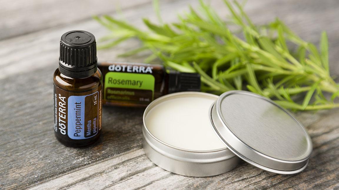 DIY: Hair Wax with Rosemary Oil | doTERRA Essential Oils